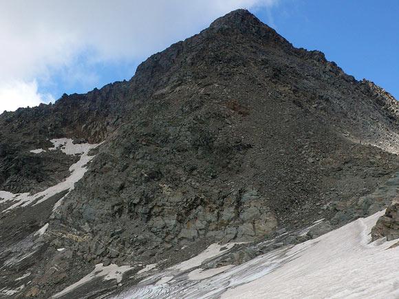 Il piccolo ghiacciaio delle Spianate