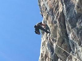 Corso roccia primo livello