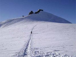 Salita al Monte Rosa