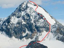 Gran Zebrù ski alp