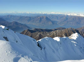 Cresta Piancaformia Invernale