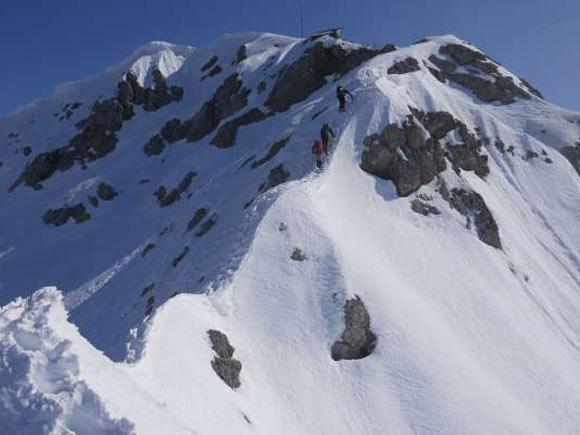 Sotto la cima del Grignone