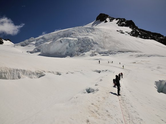 Prima parte del ghiacciaio