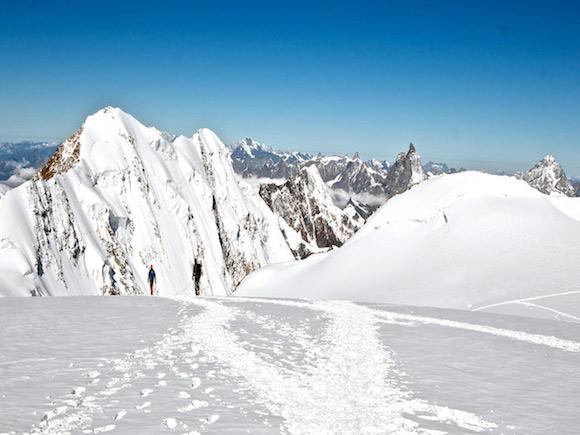 Vista sulla cresta dei Liskamm
