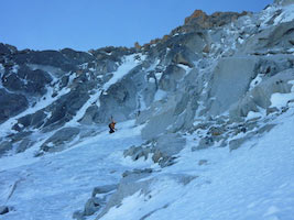 Goulottes del Monte Bianco