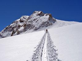 Corso base di sci alpinismo in Valle d'Aosta
