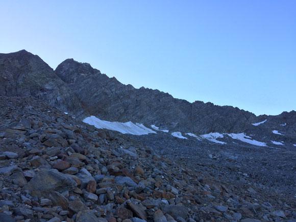 La lunga cresta sud ovest