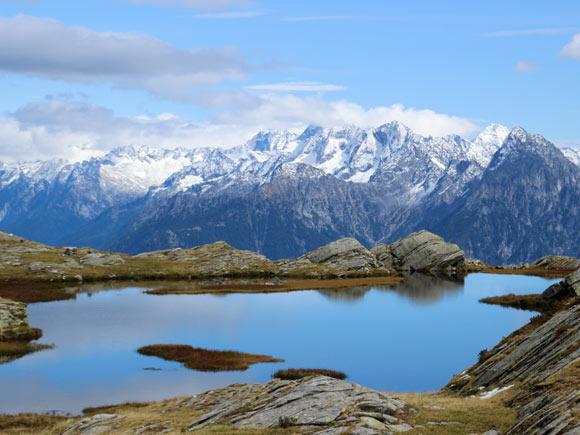 Il Lago Piodella a 2202 m