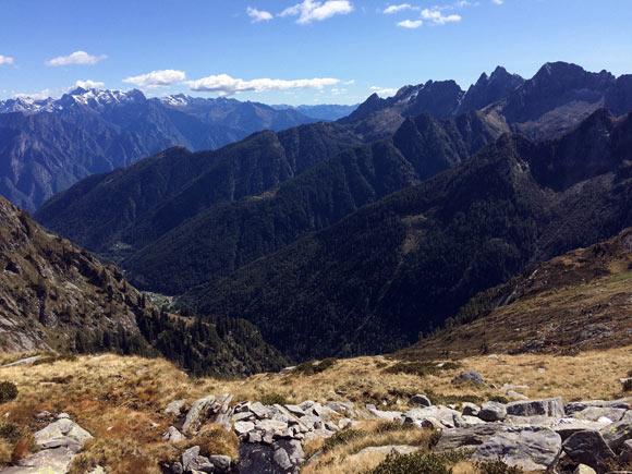 Presso Alpe Piazza a 1668 m