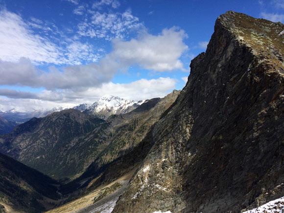 Discesa nella selvaggia Val Pilotera