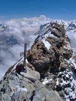 Cervino - Croce di vetta sulla cima italiana