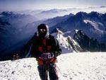 In cima al Monte Bianco